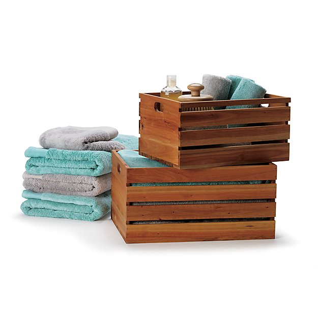 eucalyptus storage boxes