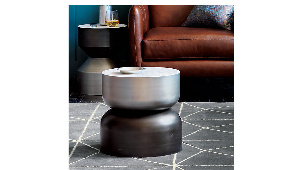 silo tall side table