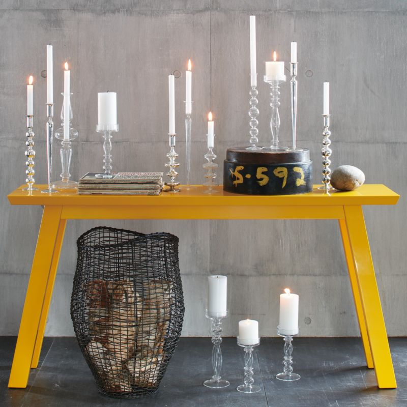 sol console table from cb2.com