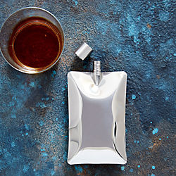 stainless steel liquid body flask