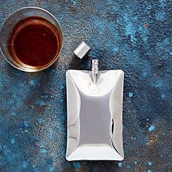 stainless steel liquid body flask
