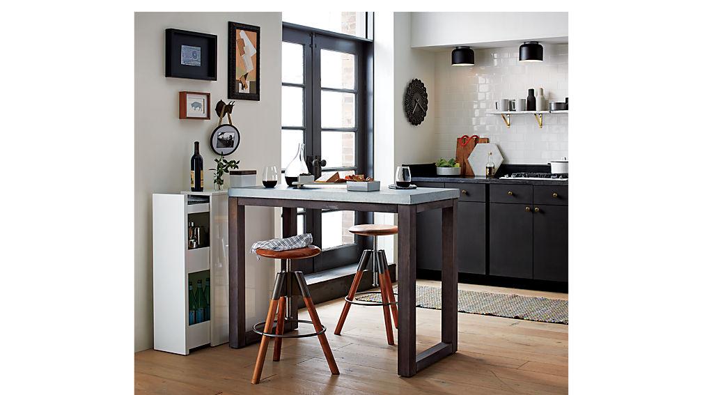 revolution adjustable bar stool