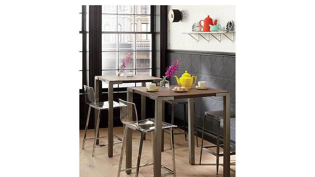 "vapor 30"" acrylic bar stool"