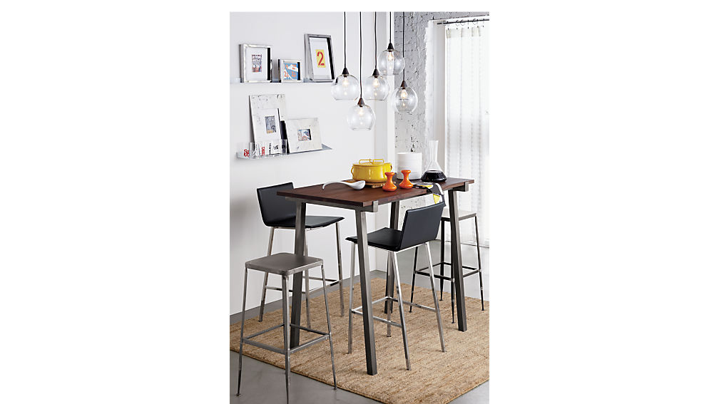 "phoenix carbon grey 24"" counter stool"