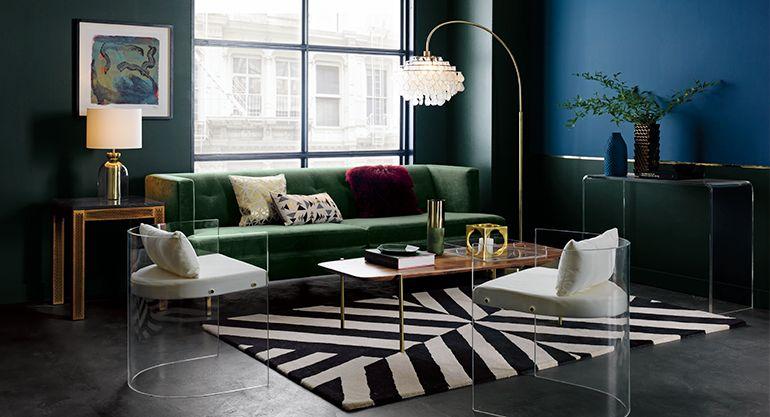 Mid Century Modern Living Room Furniture Ideas | CB2