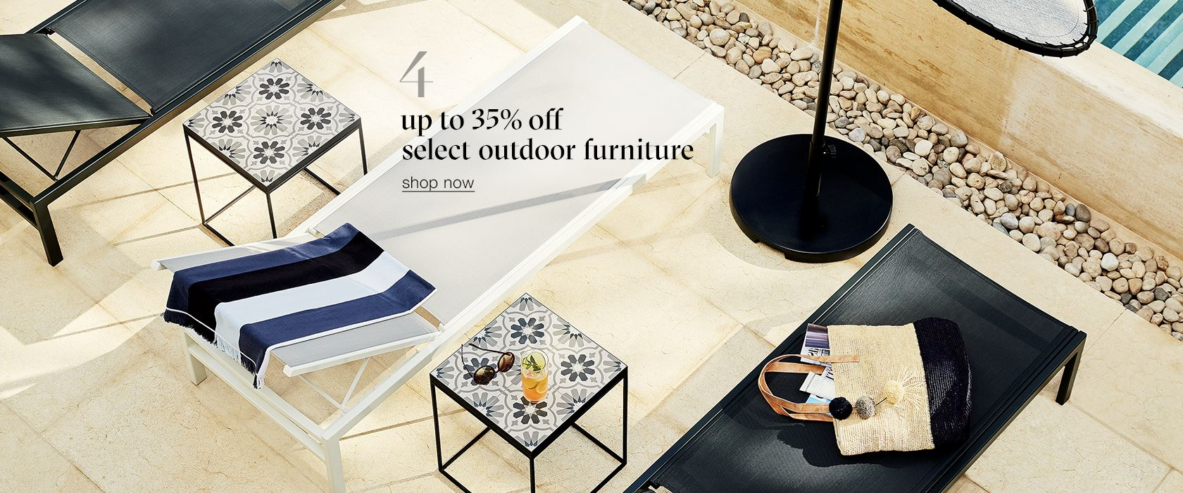 Up To 35 Off Select Outdoor Furniture