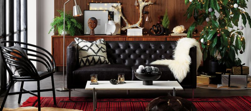 Perfect Luxe. Livable. Leather. Shop All Furniture