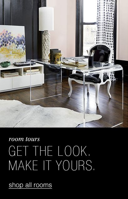 room tours. get the look. make it yours.