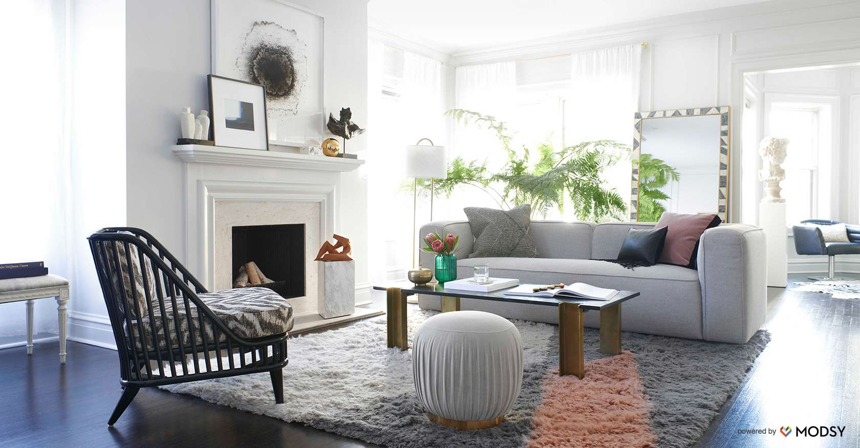 home and interior design. cb2 interiors  virtual room design real stylists Modern Furniture and Home Decor CB2