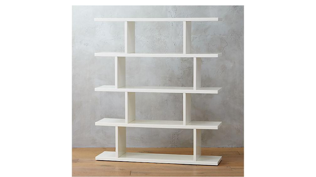 3.14 white bookcase