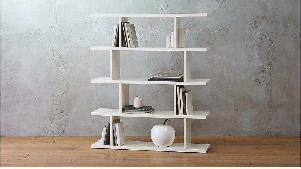 3 14 Modern White Bookcase Reviews Cb2