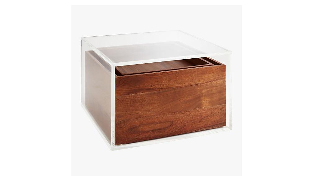 Studio Acrylic Storage Table