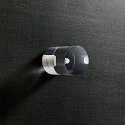 Acrylic Clear Cylinder Knob