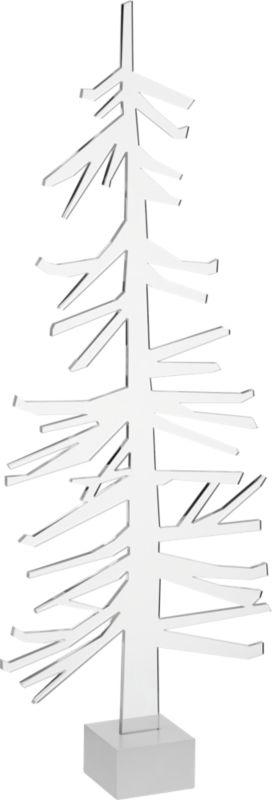 """acrylic 18"""" tree"""