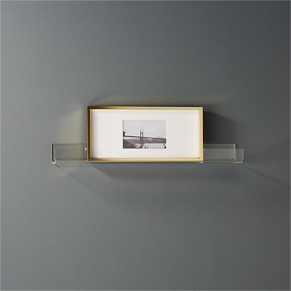 AcrylicWallShelf24inSHF16