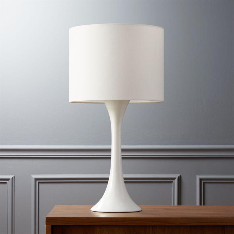 Good Ada II White Table Lamp