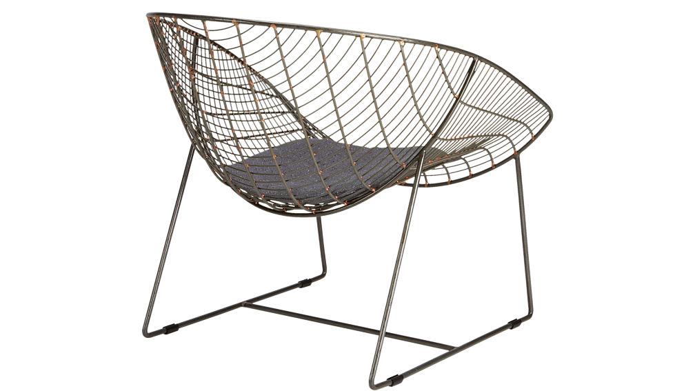 recycled fabric chair cushion