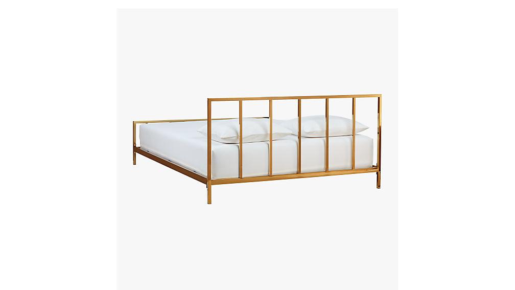 alchemy bronze queen bed