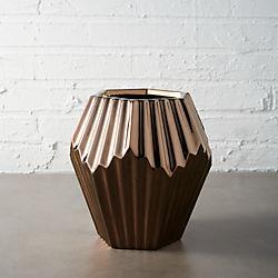 alexa copper vase-planter