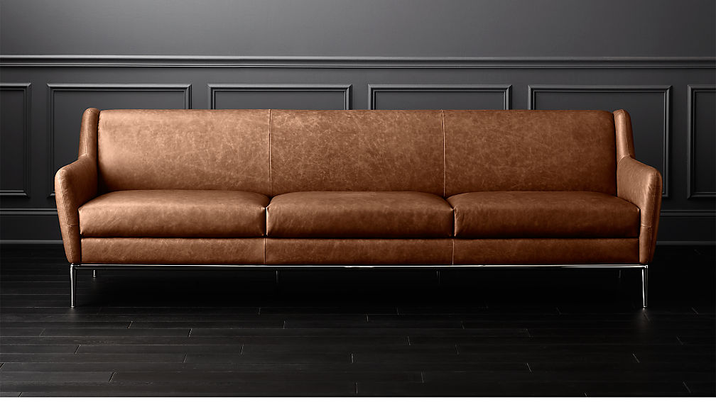 Alfred Extra Cognac Leather Sofa Reviews