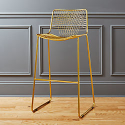 "alpha brass 30"" bar stool"