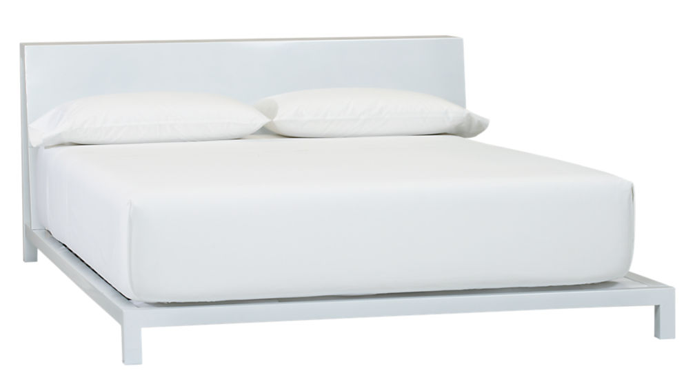 alpine white queen bed - Queen White Bed Frame