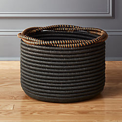 Amber Coiled Rope Basket