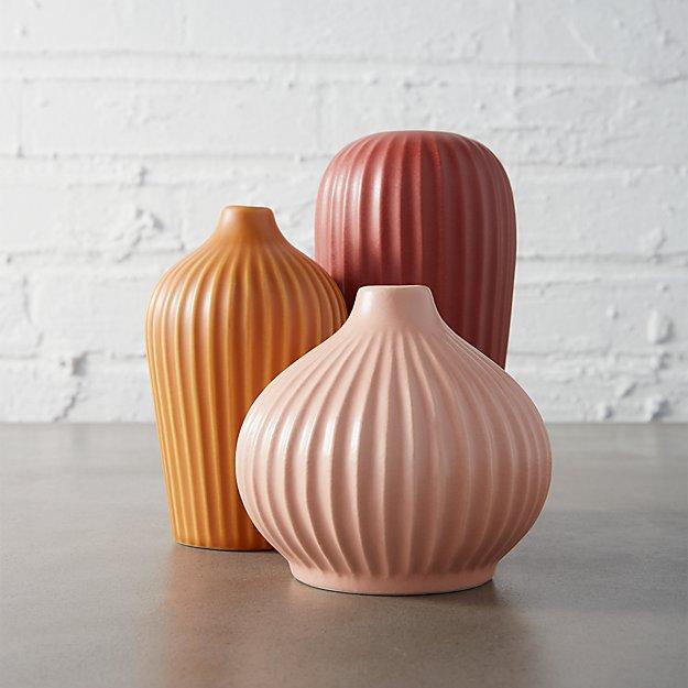 3-piece amici vase set