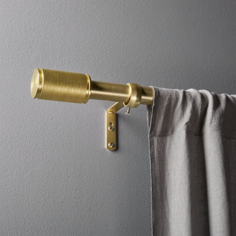 Online Designer Living Room Amp Brass Curtain Rod Set 48