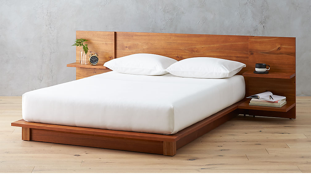 Andes Acacia Full Bed Reviews Cb2
