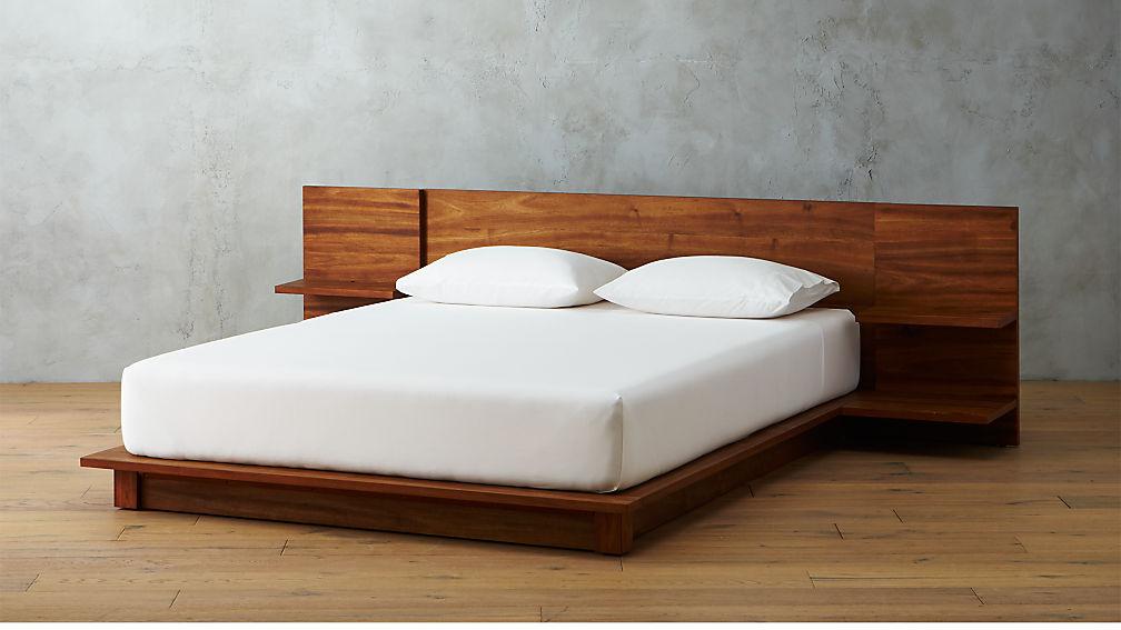 Cb Platform King Bed Wood