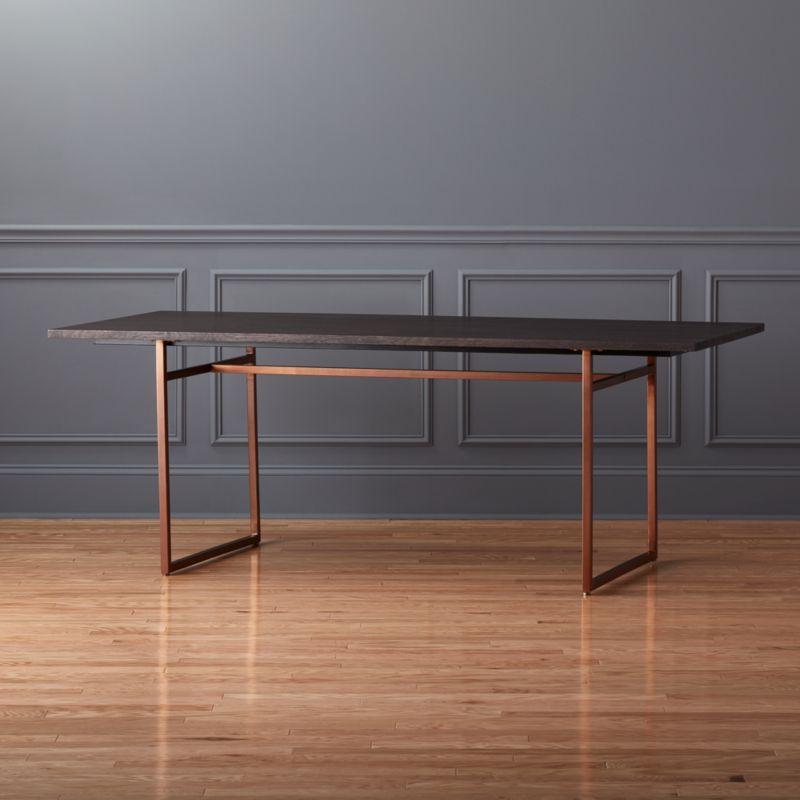 anezi dining table cb2
