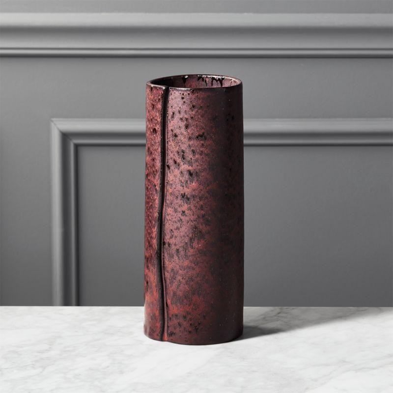 Ansel Wrap Purple Vase