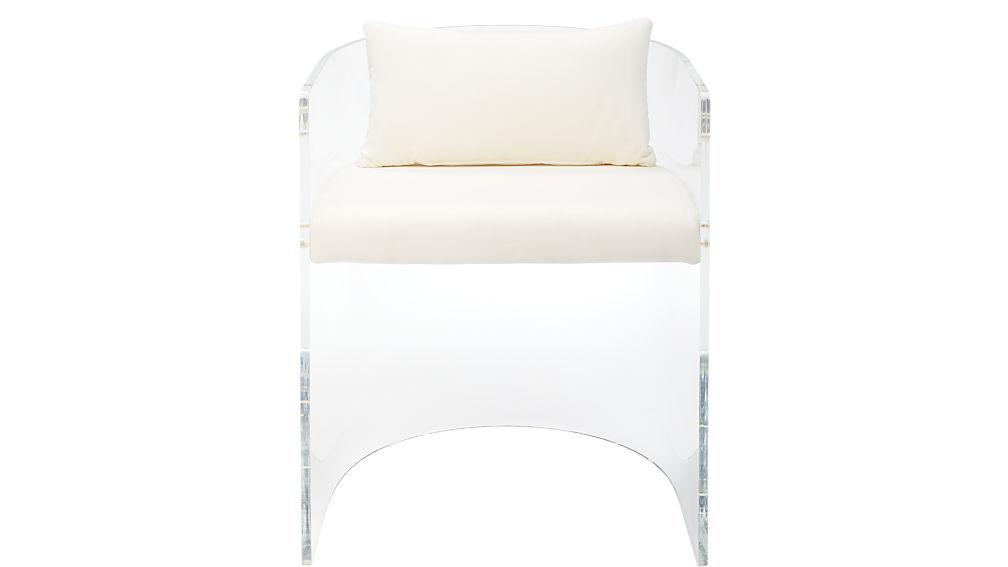 antonio acrylic chair pillow