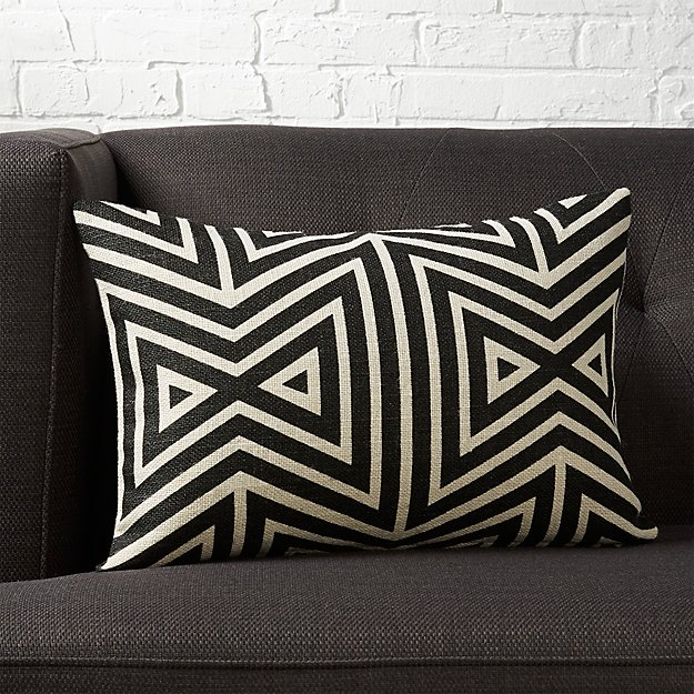 "18""x12"" apani pillow with down-alternative insert"