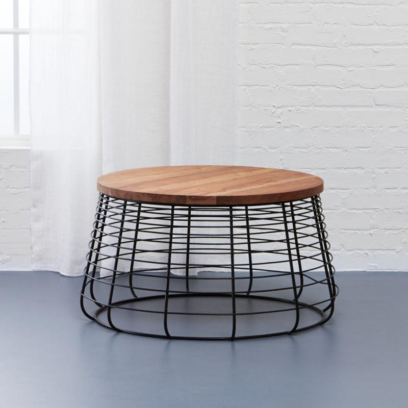 apis coffee table CB2