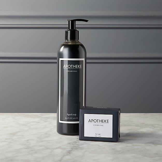 apotheke charcoal soaps