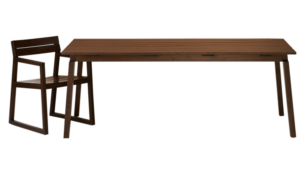 artemis rectangular dining table