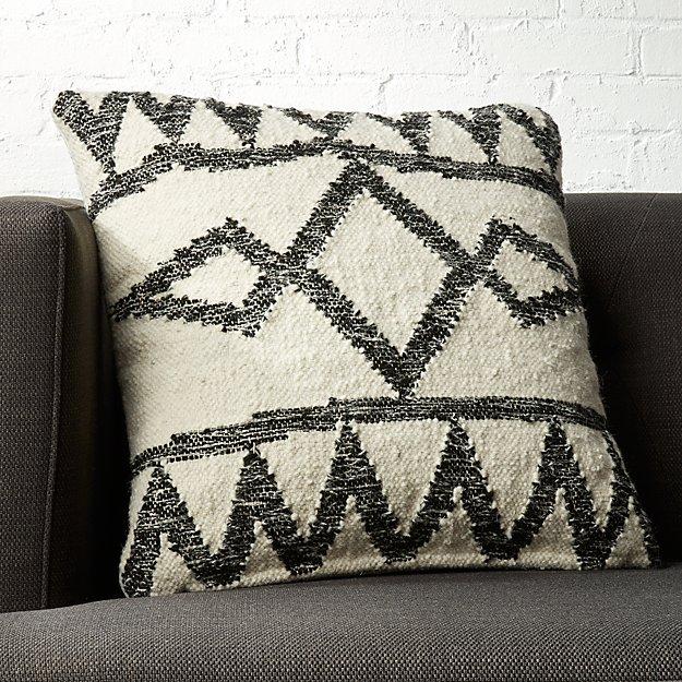 "20"" Asterix Geometric Pillow"