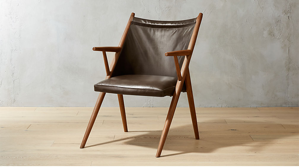 Lounge Chair atelier leather lounge chair reviews cb2