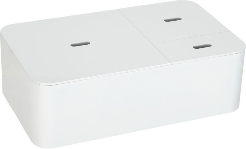 aurea white coffee table