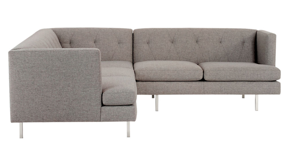 stainless steel legs for furniture. delighful furniture avec 2piece grey sectional sofa with brushed stainless steel legs to for furniture