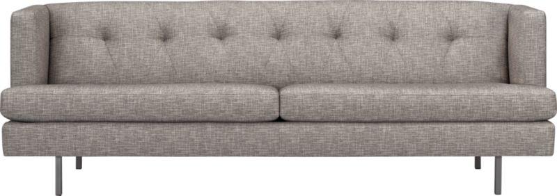 avec tweed sofa