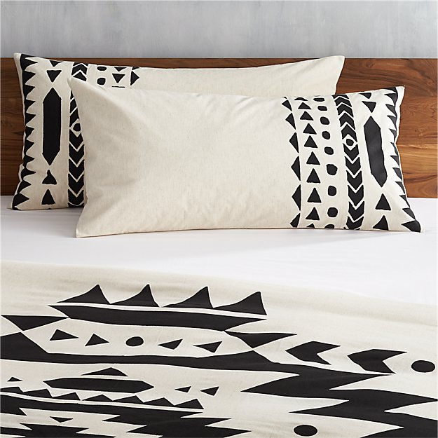 set of 2 baja king shams