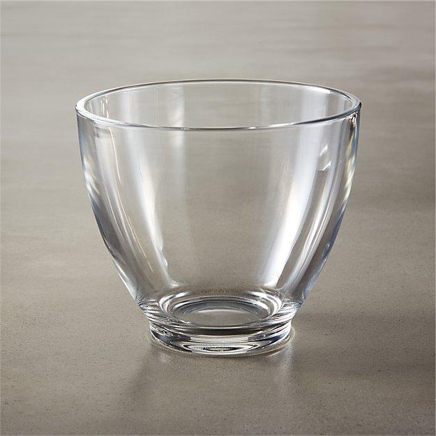bari glass bowl