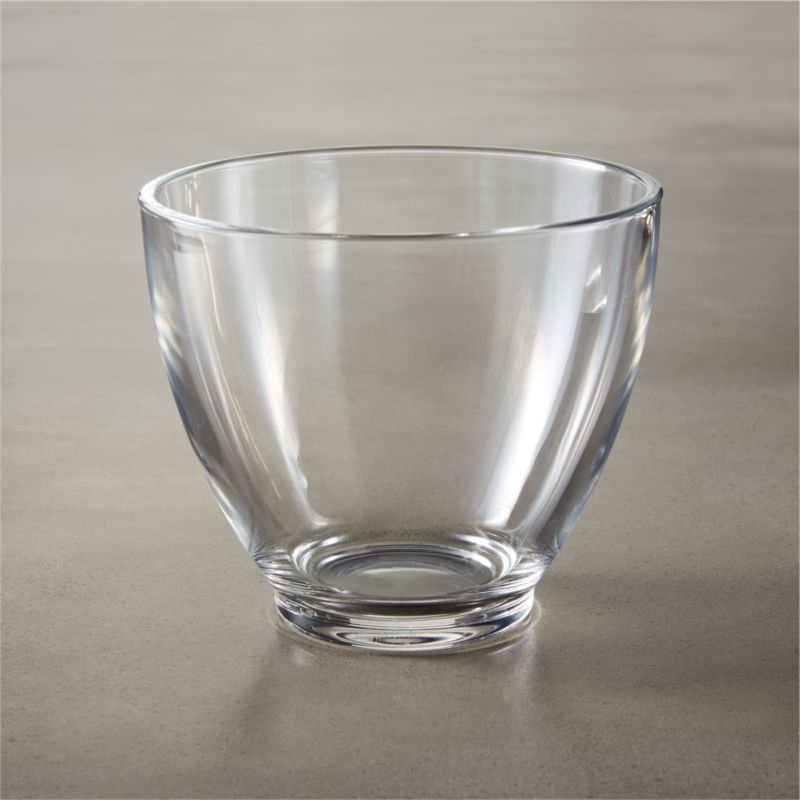 bari glass bowl