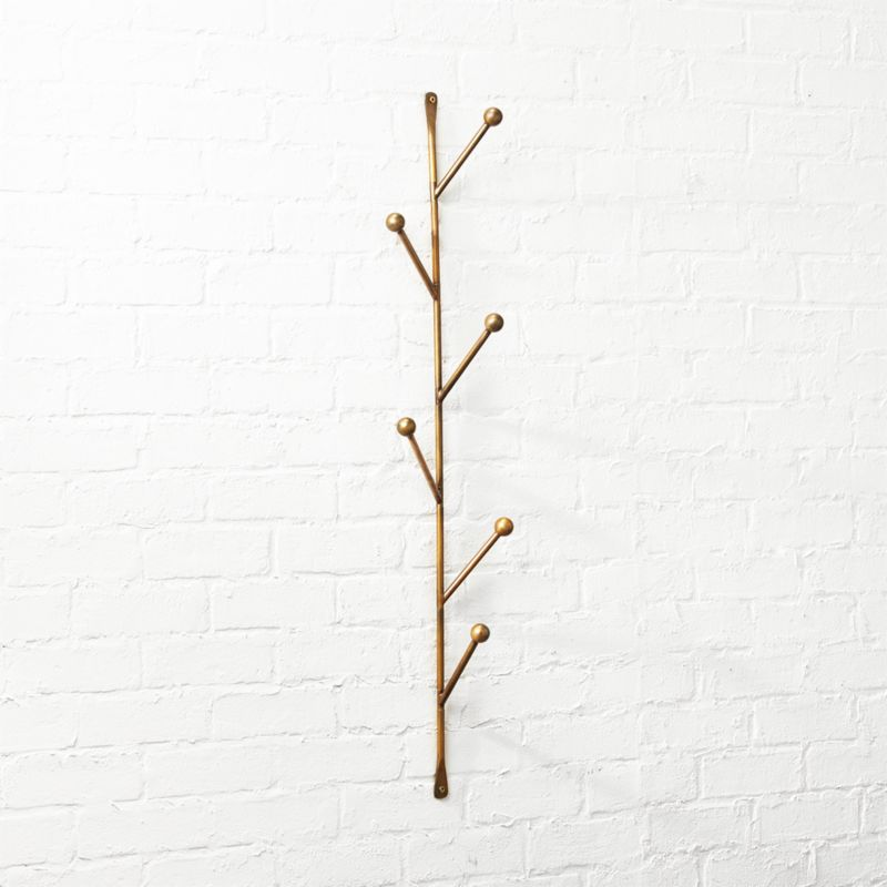 barker vertical wall mounted coat rack - Modern Coat Rack