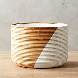 Basket Extra Large White Planter