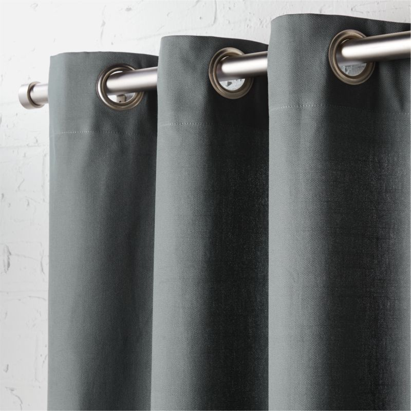 Grommet Curtains | CB2