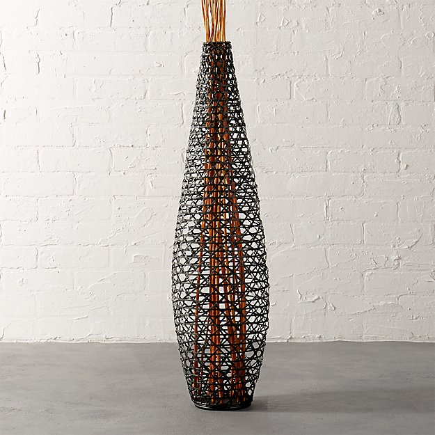 basketweave vase